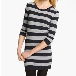 French connection Bambi striped sweater dress